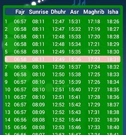 Muslim Salat Times Pro 3.8 دانلود نرم افزار اوقات نماز