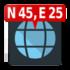 دانلود Map Coordinates Pro 4.9.3 برنامه تعیین مختصات و آدرس روی نقشه اندروید