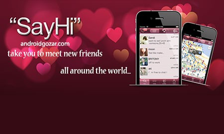 say hi app for android