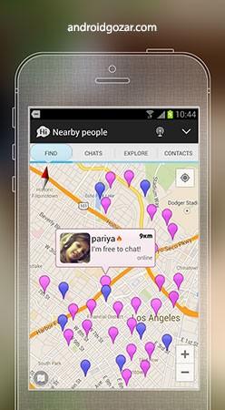 SayHi Chat, Meet New People 7.08 دانلود نرم افزار دوست یابی اندروید