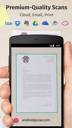 Scanbot Pro - PDF Document Scanner 7 5 12 246 اسکن PDF با