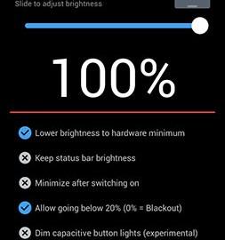 دانلود Darker Pro 4.0.1 نرم افزار فیلتر صفحه نمایش گوشی