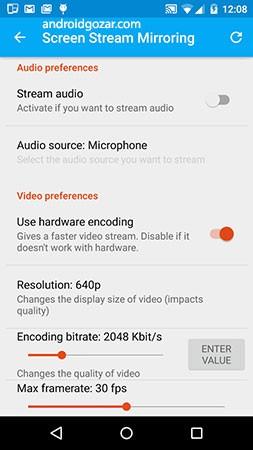 دانلود Screen Stream Mirroring Pro 2.6.1c – اشتراک گذاری صفحه نمایش اندروید
