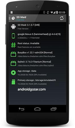 دانلود SD Maid Pro 4.15.11 برنامه بهینه سازی و پاکسازی اندروید