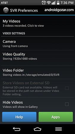 Secret Video Recorder 2 Pro 2.4 دانلود نرم افزار ضبط ویدیو مخفی
