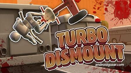 Turbo Dismount 1.26.0 دانلود بازی شبیه ساز تصادف اندروید + مود