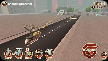 Turbo Dismount 1.43.0 دانلود بازی شبیه ساز تصادف اندروید + مود