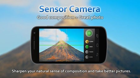 Sensor Camera Pro 1.1.3 Download Sensory Camera app