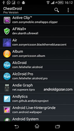 Cheat Droid PRO / root only 2.1 ویرایش SharedPreferences