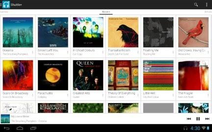 Shuttle+ Music Player 1.5.15 دانلود موزیک پلیر حرفه ای