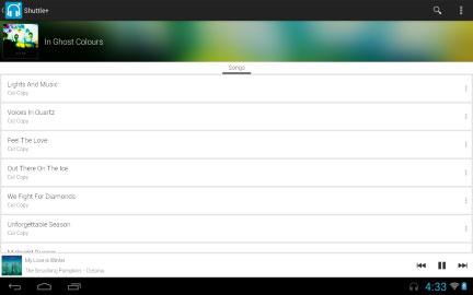 دانلود Shuttle+ Music Player 2.0.15 موزیک پلیر حرفه ای اندروید
