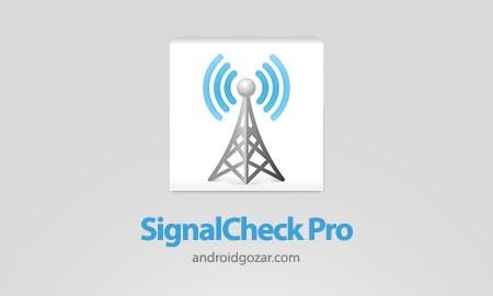 SignalCheck Pro 4.43 دانلود نرم افزار بررسی سیگنال اندروید