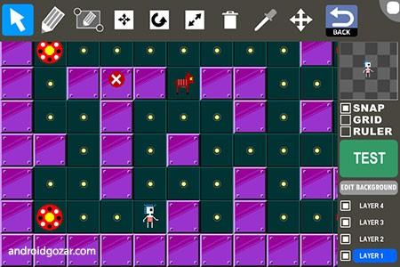 Game Creator Pro 1.0.42 دانلود نرم افزار ساخت بازی در اندروید