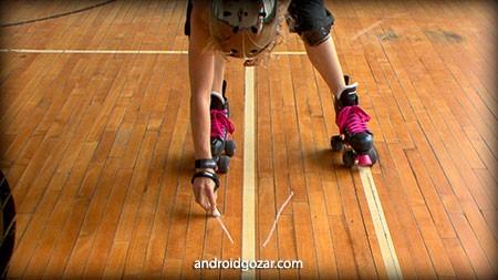 دانلود Skate Technique Roller Derby 1 1.0 برنامه آموزش تکنیک های اسکیت