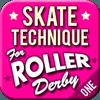 Skate Technique Roller Derby 1 1.0 دانلود نرم افزار آموزش تکنیک های اسکیت 1