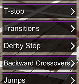 Skate Technique Roller Derby 2 1.0 دانلود نرم افزار آموزش تکنیک های اسکیت 2
