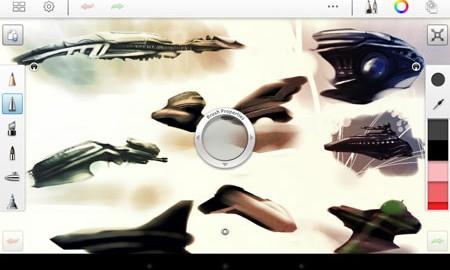 SketchBook Pro 5.0.2 دانلود برنامه نقاشی و طراحی حرفه ای اندروید