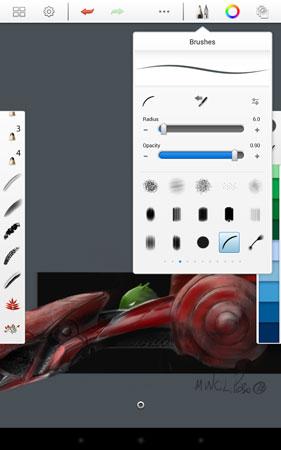 دانلود SketchBook Pro 5.2.3 برنامه نقاشی و طراحی حرفه ای اندروید