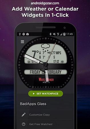 دانلود WatchMaker Premium 5.7.3 – برنامه ساخت صفحه ساعت هوشمند