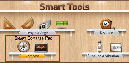 Smart Compass Pro 2.6.2 دانلود قطب نما و فلزیاب حرفه ای