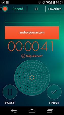 Voice Recorder Premium – Dictaphone 2.63 دانلود نرم افزار ضبط صوت اندروید
