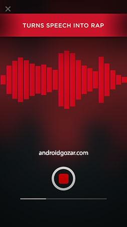 AutoRap by Smule 2.2.1 Unlocked دانلود برنامه تبدیل گفتار به رپ اندروید