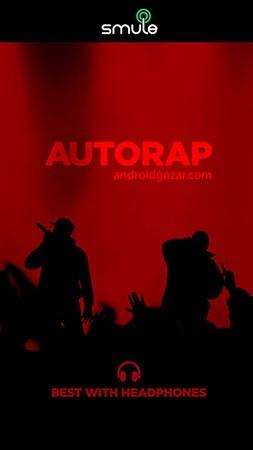 دانلود AutoRap by Smule Pro 2.3.5 – برنامه تبدیل گفتار به رپ اندروید