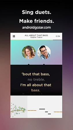 Sing! by Smule 6.1.1 Unlocked دانلود نرم افزار قرار دادن صدا روی آهنگ