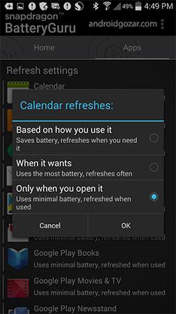 دانلود Snapdragon™ BatteryGuru 3.0 نرم افزار افزایش عمر باتری اندروید