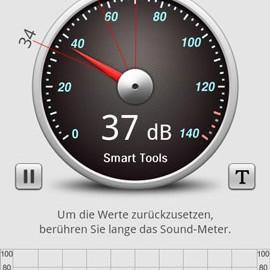 Sound Meter Pro 2.5.9 دانلود نرم افزار صدا سنج اندروید
