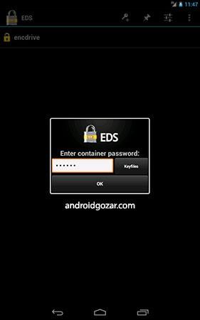 دانلود EDS 2.0.0.233 – برنامه ذخیره و رمزگذاری اطلاعات اندروید