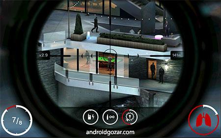 Hitman Sniper 1.7.128077 دانلود بازی هیتمن اسنایپر اندروید + مود