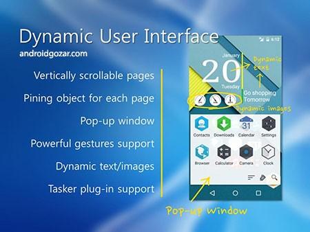 Total Launcher Premium 2.4.2 دانلود لانچر قابل تنظیم و کارآمد اندروید