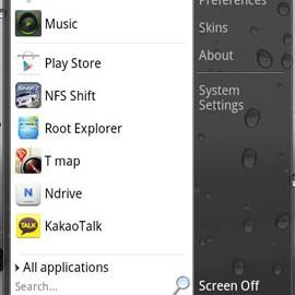 Start menu for Android 1.4.3 منوی استارت برای آندروید