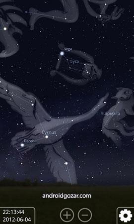 دانلود Stellarium Mobile PLUS – Star Map 1.4.2 برنامه نجوم اندروید