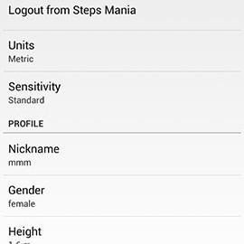 Steps Mania Pro 3.19 دانلود نرم افزار شمارش قدم ها