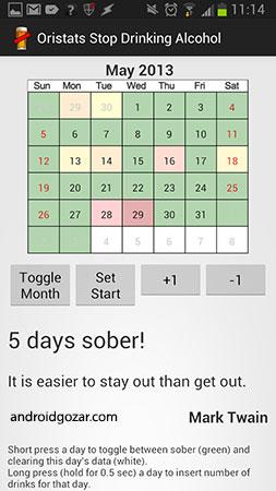 Stop Drinking Alcohol App Full 1.1 نرم افزار قطع مصرف الکل