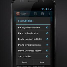 Subbr Pro: Subtitle Editor 1.2.3 دانلود ویرایشگر زیرنویس