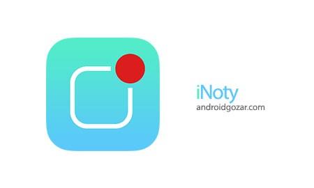 iNoty Full 1.5.2.2 دانلود نرم افزار نوار وضعیت آیفون برای اندروید