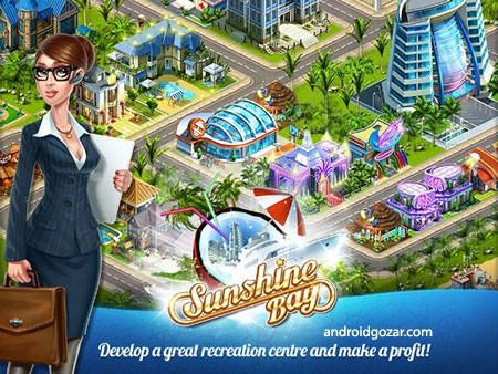 Sunshine Bay 1.35 دانلود بازی موبایل خلیج آفتاب