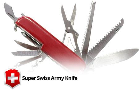 Super Swiss Army Knife 1.1.0 دانلود نرم افزار چاقوی ارتش سوئیس