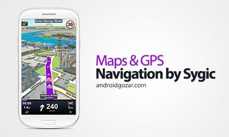 GPS Navigation & Maps Sygic Full 17.4.13 Final دانلود مسیریاب سایجیک اندروید