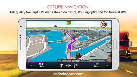 دانلود Sygic Truck GPS Navigation Premium 20.0.2 مسیریاب کامیون اندروید