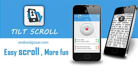 Tilt Scroll [Root] PRO 1.16.18 دانلود نرم افزار اسکرول با کج کردن دستگاه