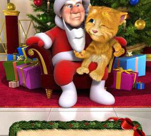 Talking Santa meets Ginger + 2.0 دانلود نرم افزار ملاقات سانتا سخنگو