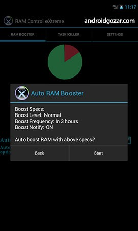 RAM Booster eXtreme Speed Pro 5.8.1p دانلود نرم افزار کنترل رم اندروید