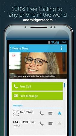 Voxox 1.2.9 دانلود نرم افزار تماس واقعی و اس ام اس رایگان سراسر جهان