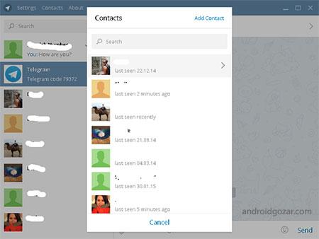 دانلود Telegram Desktop 2.4.2 تلگرام دسکتاپ برای کامپیوتر و ویندوز