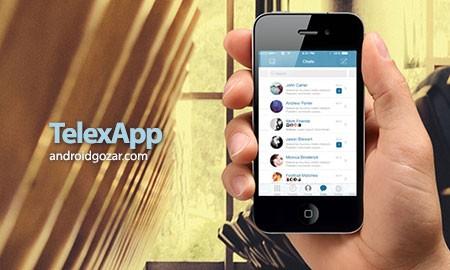 دانلود TelexApp 2.0.1 برنامه شبکه اجتماعی تلکس اپ اندروید