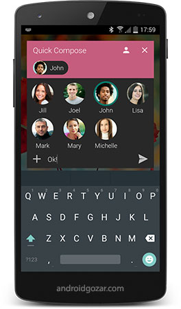 Textra SMS PRO 4.12 دانلود برنامه اس ام اس اندروید